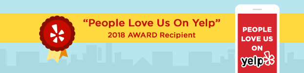 Yelp People Love Us On Yelp-2018 Award