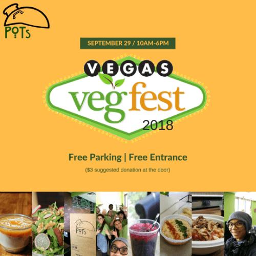 Vegas VegFest 2018 - Sep 29th 10 am - 6pm