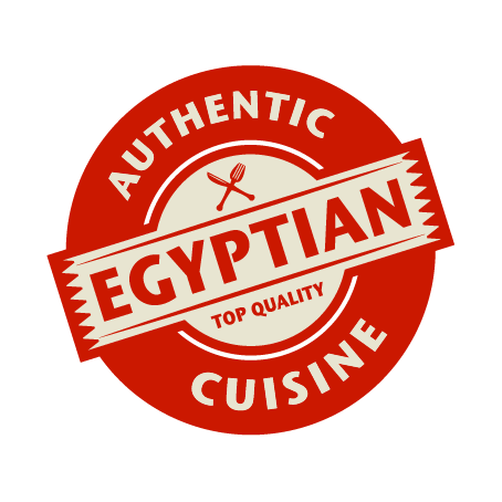 Authentic Egyptian Cuisine Badge (Top Quality)