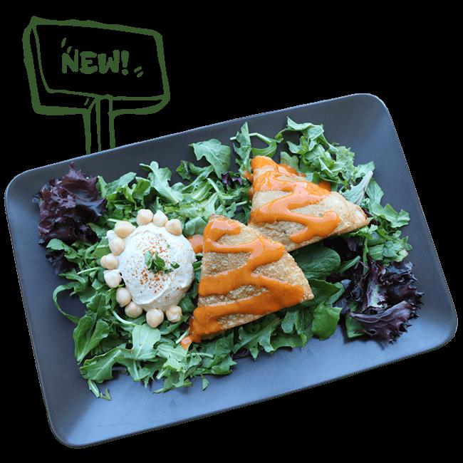 Falafel Samosas - New Dish