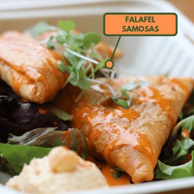 Falafel Samosas