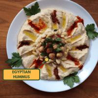 Hummus - Egyptian style